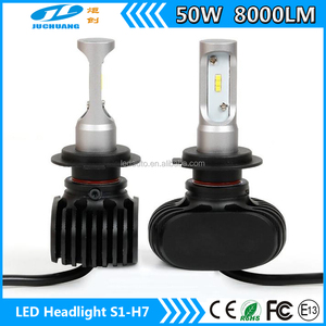 automobiles&motorcycles 4000 Lumens 40w h7 S1 led headlights bulb kit