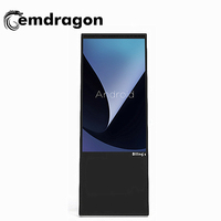 Popular Slim portable 43 inch advertising display screen led displays digital signage display stands