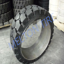 Hot Sale New Forklift press on Solid Tire forklift tyres 355.6*114.3*203.2