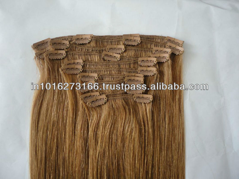Temple Indian human  Hair Extensions
