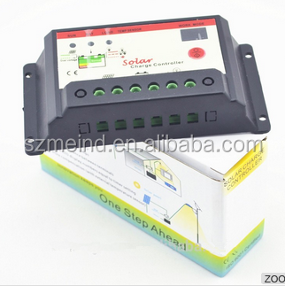 PWM 12V/24V,20A solar charge controller