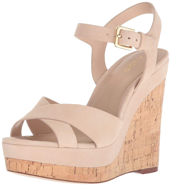 b65495391c75 Get Quotations · ALDO Women s Madyson Wedge Sandal