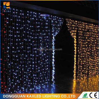 Led Waterfall Curtain Light String Christmas Lights Ce Rohs