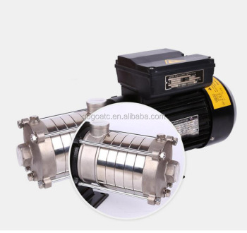 Non-self-priming horizontal multi-stage centrifugal pump single-phase home horizontal portable large pressure high lift