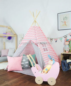 2017New LOVETREE Kids Play Used Canvas tent For Kids Teepee & 2017new Lovetree Kids Play Used Canvas Tent For Kids Teepee - Buy ...