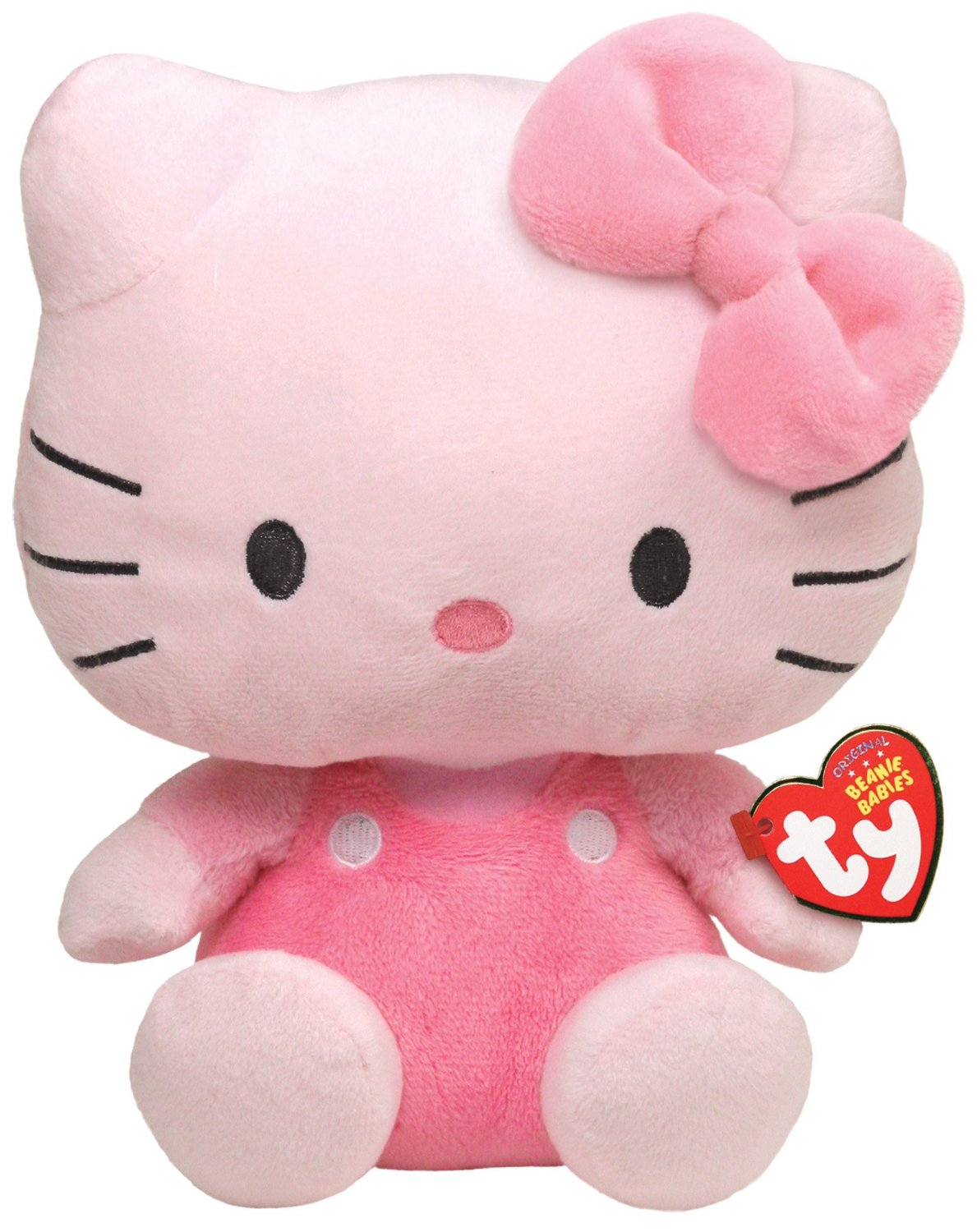 cd2166c5407 Get Quotations · TY Beanie Baby Hello Kitty - All Pink