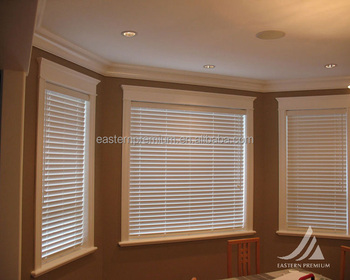 China Factory Custom Made Decorative One Way Wood Window Venetian Blinds For Windows