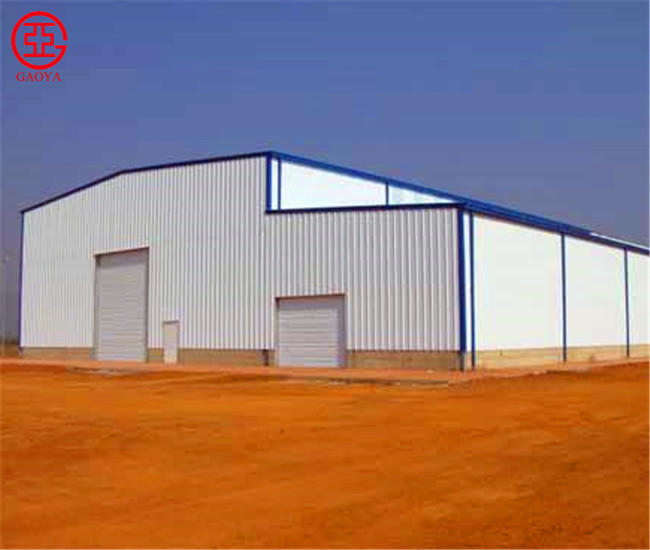 Pre-fabricated light steel structure competitive price metal frame barn/storage