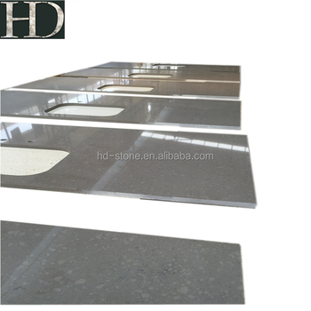 Kitchen Countertops Grey Quartz Series Chinese Quartz Countertops Hot Sale