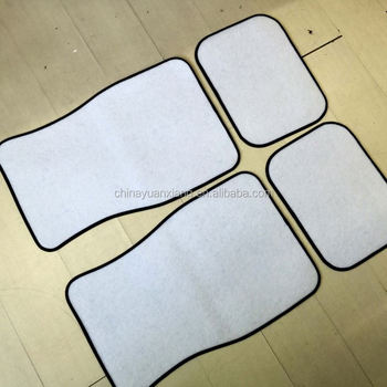 graphic relating to Printable Floor Mats identified as Printable White Customised Blank Car or truck Flooring Mats Fastened For Sublimation Hire - Get Blank Car or truck Surface Mats,White Motor vehicle Ground Mats,Blank Automobile Mats Materials upon