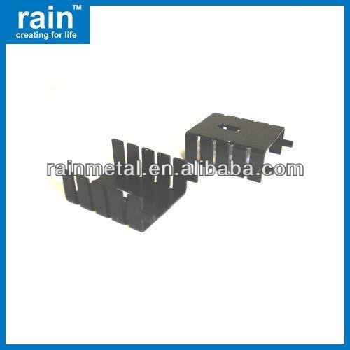 Precision install heatsink for led light