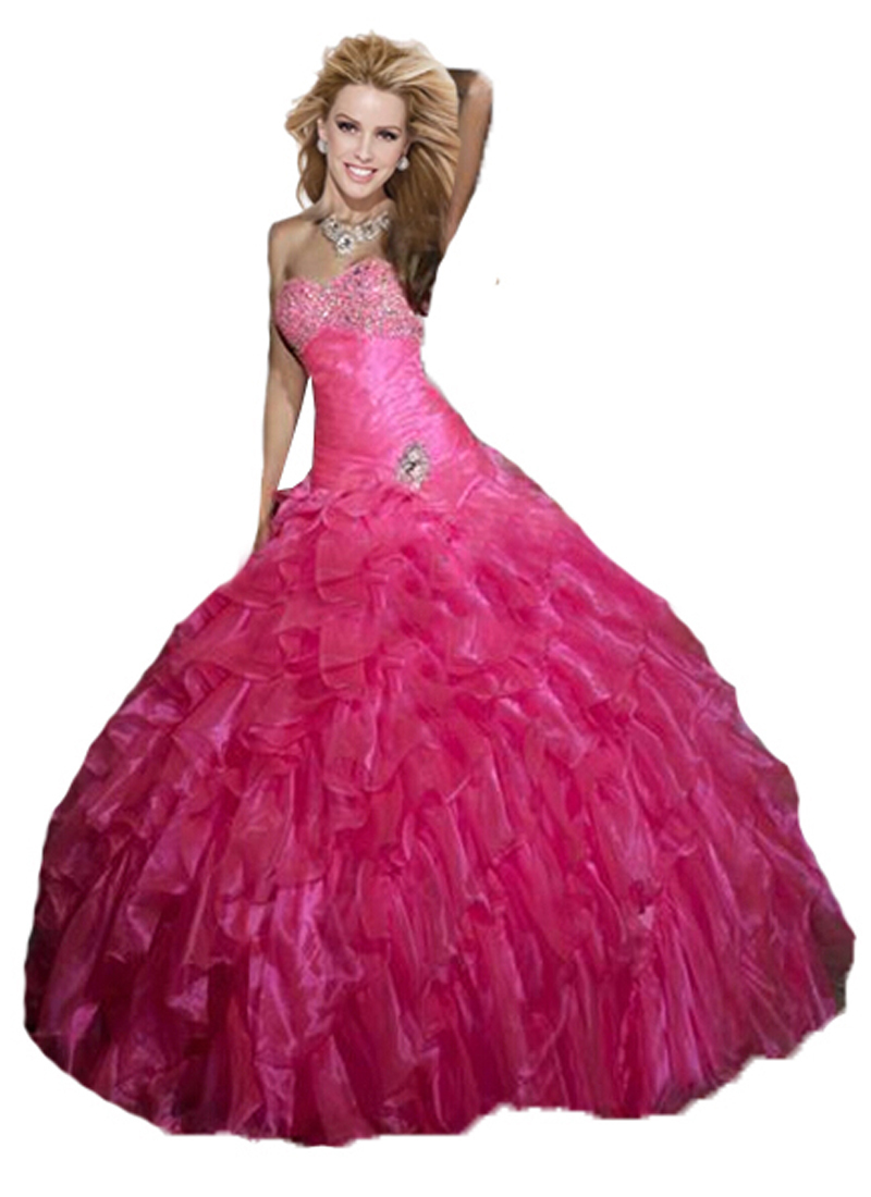 6d05f53ea04be Buy Hot Sale 2015 Pink Quinceanera Dresses Ball Gown Organa With ...
