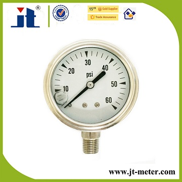 "2"" 50MM Hydraulic Gauge Type Engine Pressure Gauge"