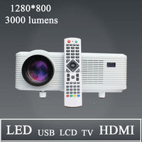 China best selling Cheerlux led dvd player 3d projector polarized Unbelievable low price 3000lumens 150W 50000H life