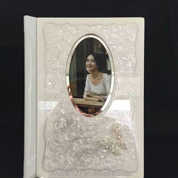 wedding photo album cover design