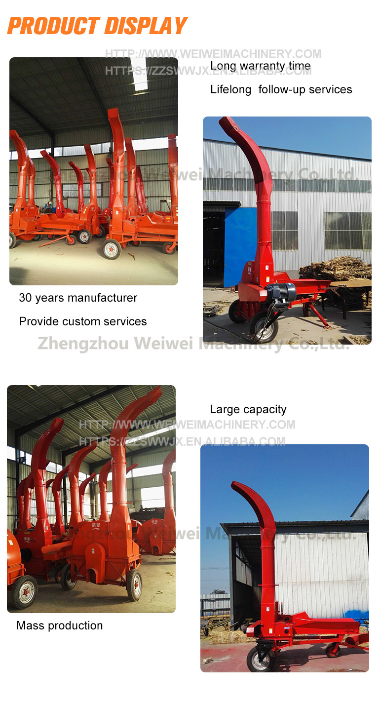 Weiwei silage making small hay crusher