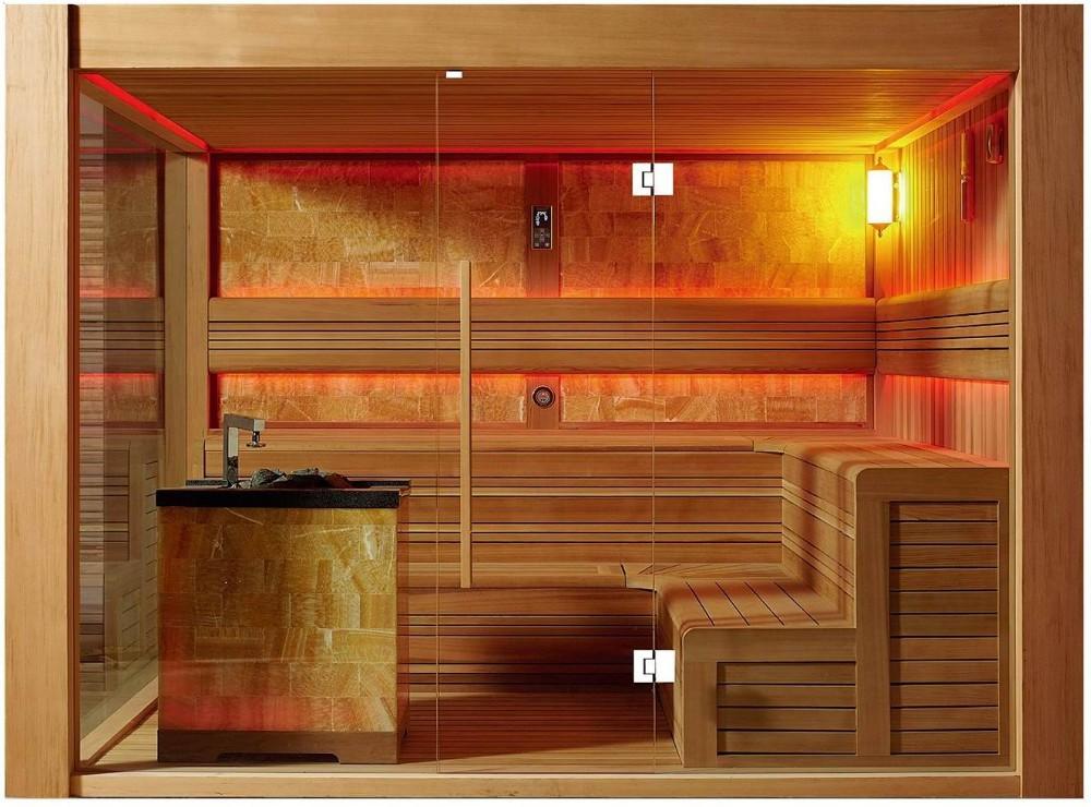 Tipos de sauna awesome apartamento tipo estudio de m con - Tipos de saunas ...
