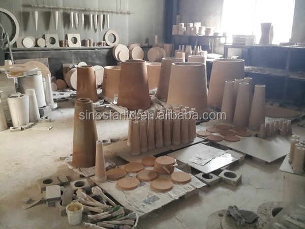 paper making machine ceramic parts for pulp cleaner