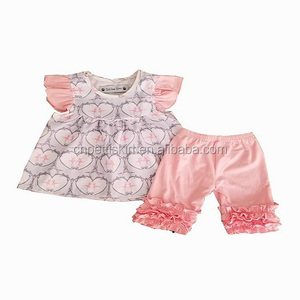 2018 cute fruit pattern girls boutique clothing best quality new model girl ballerina dress