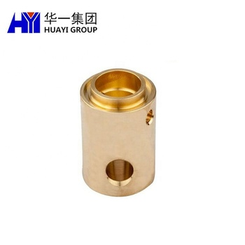 OEM metal processing cnc turning brass machining bushing precision hardware