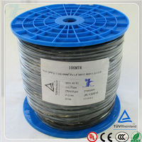 solar heating tuv approved pv1-f 4.0sqmm one core solar cable