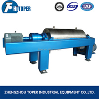 solid liquid separation decanter centrifuge