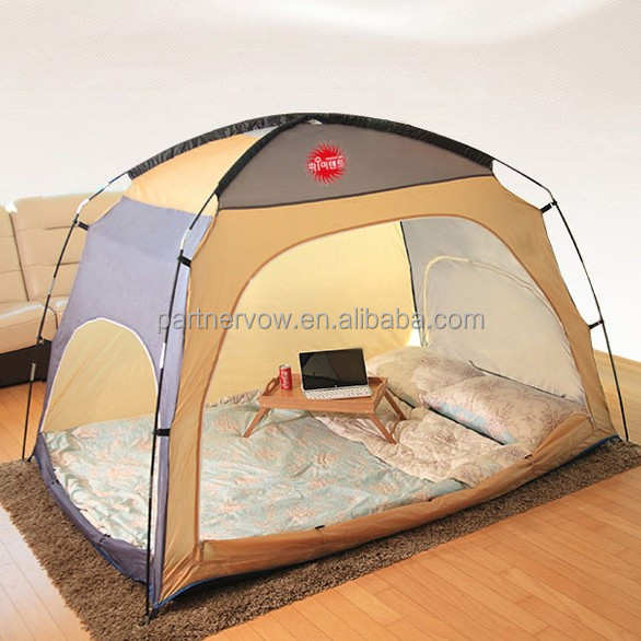 1-2 person indoor kids folding bed tent