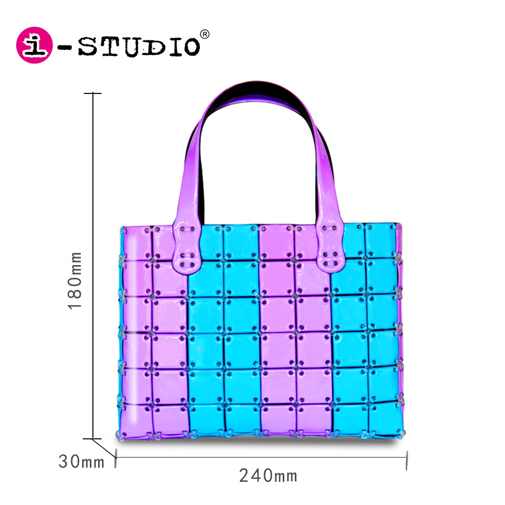 Children toy wholesale child craft toys i-studio pvc diy bag for 3-6 years old girls
