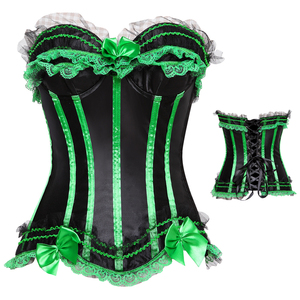 520e0620b4 Green Basque Sexy Corsets