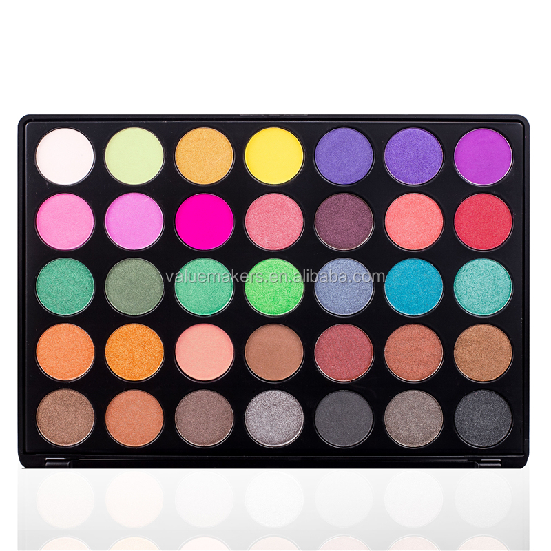 35 colors 35F eyeshadow palette,35F+ eyeshadow palette,private label Multi-colors 35 colors eyeshadow palette фото