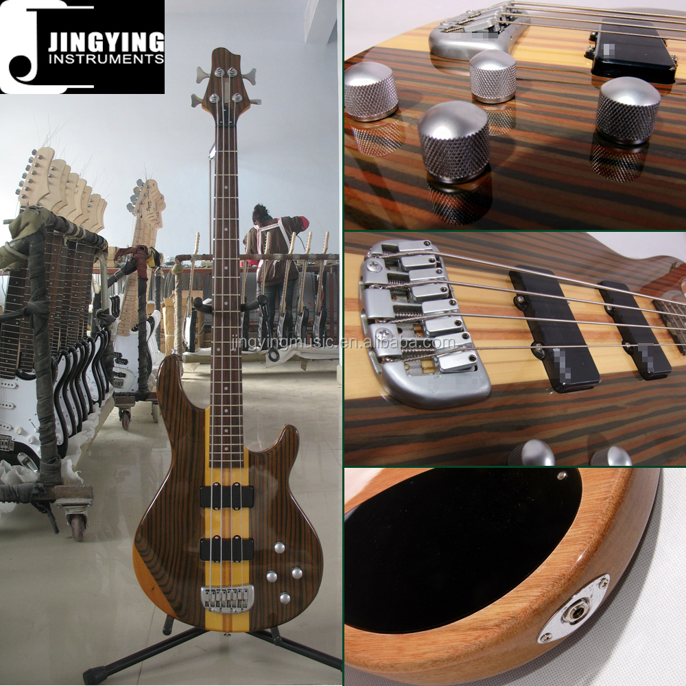Wholesale China Supplier Factory Price High Quality Mahogany Body&Neck 704 Bass Guitar