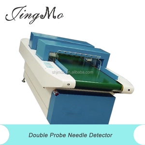 High sensitivity wholesale price digital fully automatic double sensor needle detector for cloth, gloves, coverlet, toy, etc.