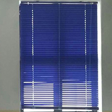 Customized Slatted Window Shutters Faux Venetian Blinds