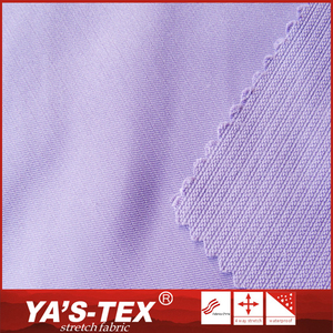 Wholesale Alibaba soft touch 100% polyester twill fabric from YA'S TEX