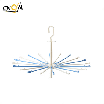 Widely Used Hot popular durable 20 Children drying racks Garment Drying Laundry Plastic Hanger for socks,socks hanger,