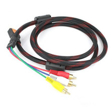 1.5M HDMI Male to 3RCA 3 RCA Video Audio AV Cable HDMI TO AV