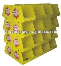 Store Display POP fashionable Cardboard Pallet Display stand boxes for gifts