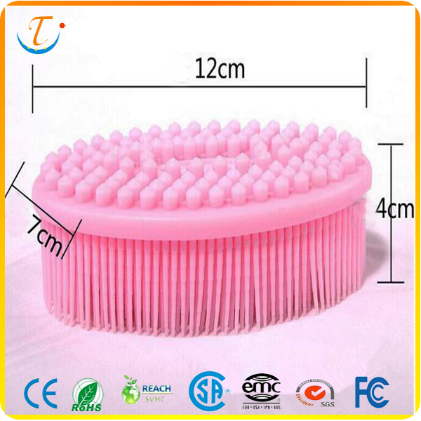Hot Selling Best Brushed Clean Bath Silicone Bath Brush Made In China