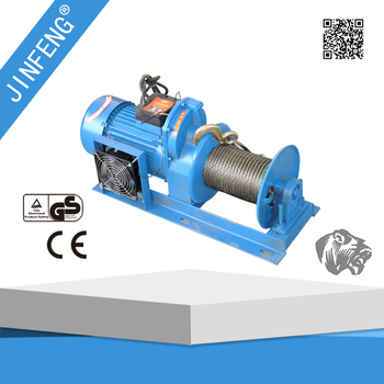 Portable 800~1000kg 380v Wire Rope Electric Hoist Cable Pulling ...