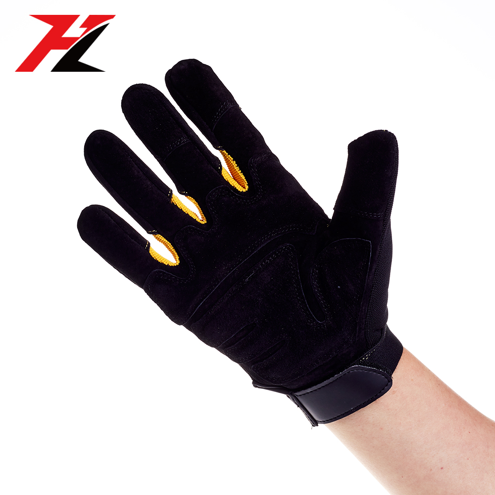 Factory cheap good quality industrial protective safety working gloves