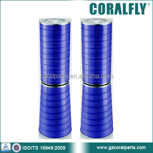 CORALFLY HEPA F9 gas turbine conical filter P03-0244 P03-0243 P03-0245