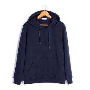 Factory Price French Terry Cloth 100% Cotton Men Blank Hoodies