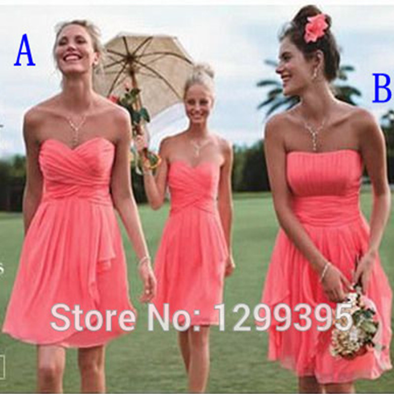 f77cc12441f Cool wedding dresses for young  Simple bridesmaid dresses under 50