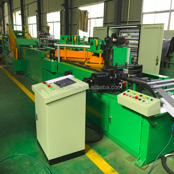 Silicon steel core cut to length line for transformer core cutting