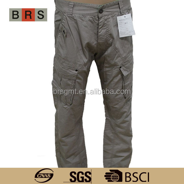 Men's Cargo Pants With Many Pockets, Men's Cargo Pants With Many ...