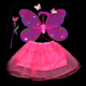 Kid Party Decoration Hair Band Fairy Wand Fairy Butterfly Wings