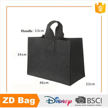 Factory fashion shopping bags large-capacity felt tote bag