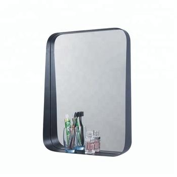 Specchio Bagno Nero.Nero Rotondo Cornice Dello Specchio Con Mensola Bagno Angolo Buy Cornice Dello Specchio Nero Specchio Del Bagno Specchio Del Bagno Con Ripiano