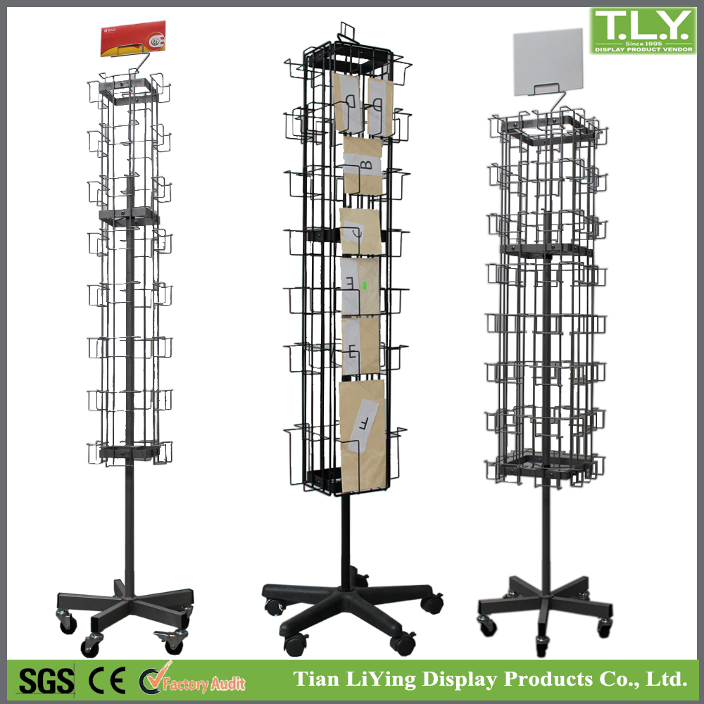 d stand panel display card tier greeting or header postcard rack wide with displays counter