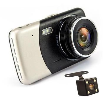 4inch Car dvr dual cam 1080p manual camera car